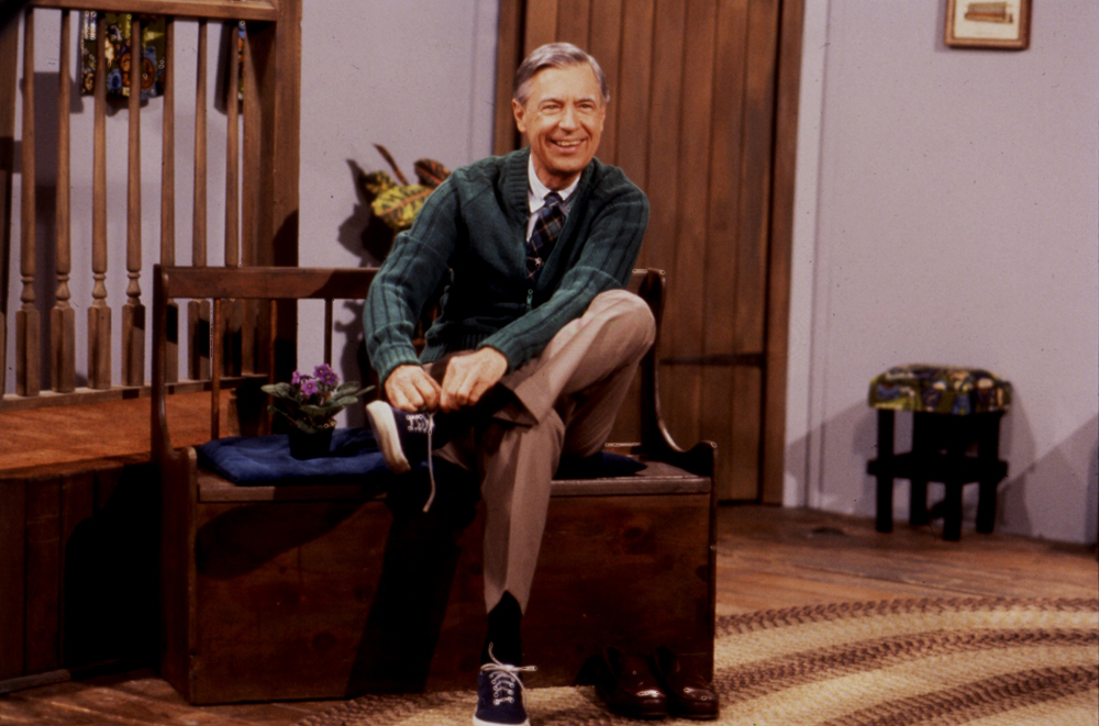 Thank Mr. Rogers Mom For The Fashion